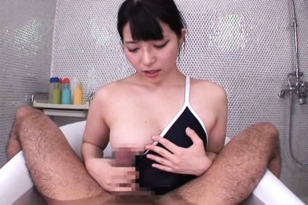 Ai uehara. Ai Uehara Asian licks boner and rubs it of her revealed hooter
